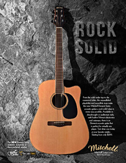 Mitchell Element Rock Solid ad