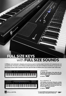Williams Full Size Keys Ad