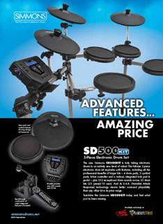 Simmons SD500 Ad