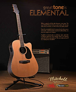 Mitchell Element Great Tone Ad