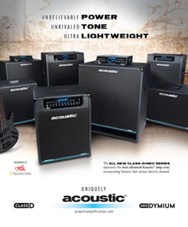 Acoustic Class D / NEO Ad