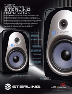 Sterling MX Monitors Ad