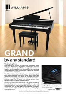 Williams Symphony Grand Spotlight Ad