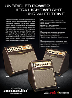 Acoustic Unbridled Power Ad
