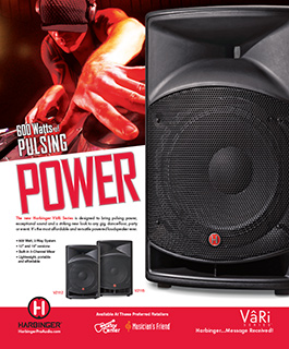 Harbinger Vari DJ Ad