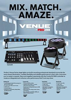 Venue by Proline Ad