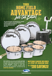 SPL Marching Drums Ad