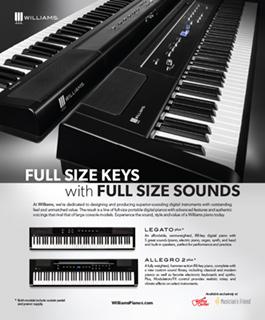 Williams Full Size Keys Ad