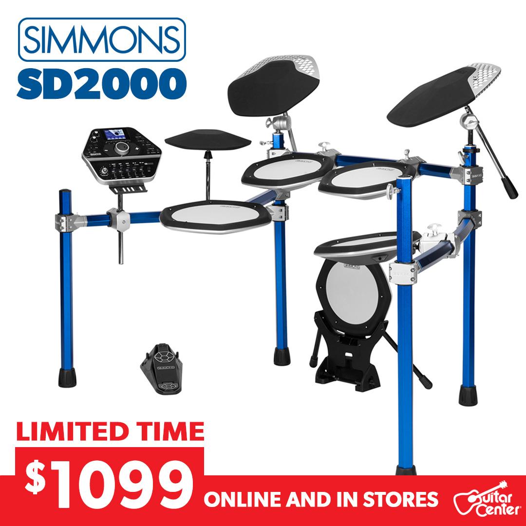 Simmons SD2000 Carousel Ad
