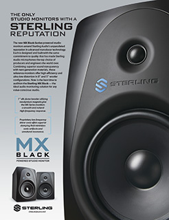 Sterling MX Black Ad