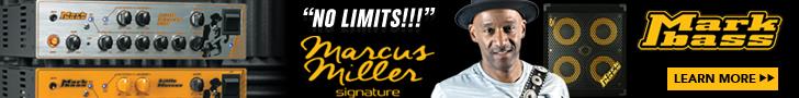 Markbass Marcus Miller Heads Ad